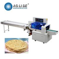 Quality Manufacturer automatic high speed flow Brioche sandwich French pita Croissant sliced arabic bread packing machinery price for sale