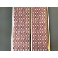 Quality Pink Color water resistant bathroom wall panels Polyvinyl Chloride Material for sale