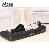 China White / Black Color Elevated Inflatable Bed High Comfort 50 * 40 * 28CM Packing on sale