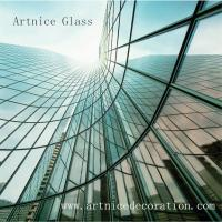 Buy cheap 3mm to 19mm Bending tempered glass, bending toughened glass with ISO, CE , from wholesalers