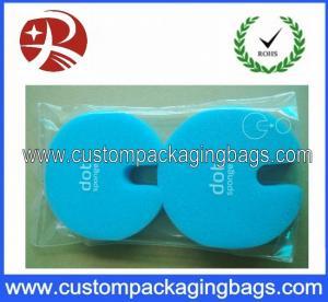 Quality Self-Adhesive Sealing Tape Custom Packaging Bags , Clear Plastic OPP Packaging Bag for sale