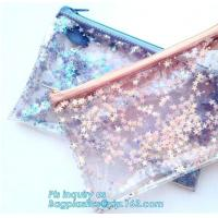 China Cosmetic Zip Bag / Make Up / Toiletry / Washbag, Polyester Make Up Wash Bag Travel Cosmetic Bag with Two Sliders Zipper on sale