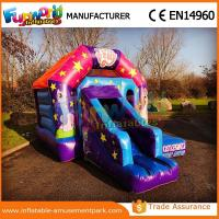Quality Customized Commercial Inflatable Bouncer Slide / Bouncy Castle Jumping House For Kids for sale