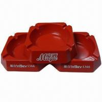 Quality cigarette ashtray, melamine material,square shape,your sizes and designs are available for sale