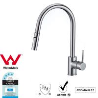 Buy Cupc Lead Free Brass Sink Pull out Mixer Tap 360 Swivel No Corrosion at wholesale prices