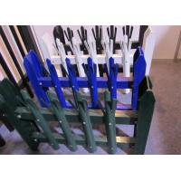 Quality Eco Friendly Palisade Security Fence , Metal Picket Fence Panels 2.0*2.4m Size for sale