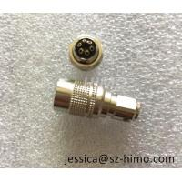 Quality 6 Pin Hirose medical female connector Male to Right Angle DC Jack cable assembly for sale
