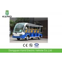 Quality 11 persons Battery Operated Electric Shuttle Bus 7.5KW 72V Motor for sale