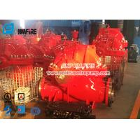 Quality UL / FM Airport Use Diesel Engine Driven Fire Pump Set With Single Stage Split Case Fire Pump 1500gpm @ 140-175PSI for sale