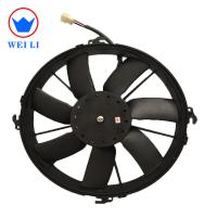 Quality 5000 Hours Life Time Condenser Blower Cooling Fan For Bus / Truck Big Air Flow 12 Inch for sale