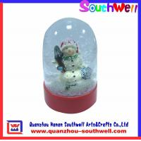 Quality plastic snow globe,resin gifts for sale