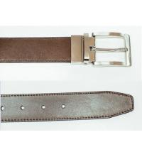 Quality Personalized Reversible Leather Belt , Mens Real Leather Belts Easy Maintain for sale