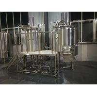 Buy cheap Mini Craft Brewing Equipment With Hot Water Tank , Fermentation Equipment from wholesalers