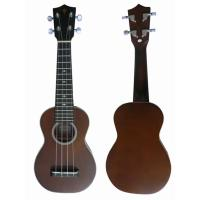 Quality small Spruce Solid Wood Hawaii Guitar Ukulele 21 inch for childrens AGUL27 for sale