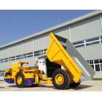 Quality Underground Mining 15 Ton Low Profile Dump Truck With Model RT-15 for sale