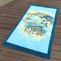 Buy Custom California Printed Towels Swimmingwear 30x60  10lbs Accessories Promote at wholesale prices