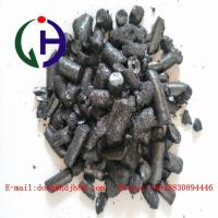 Quality Black Solid Coal Tar Pitch works amazingly well as a binder for the graphite elec for sale