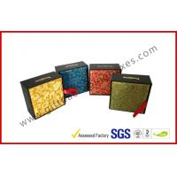 China Artistry Design Luxury Gift Packaging Boxes With Traditional Brocade Silk on sale