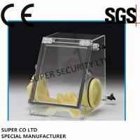 Quality Small Laboratory Glove Box / Vacuum Glove Box for Testing under Sealed Atmosphere for sale