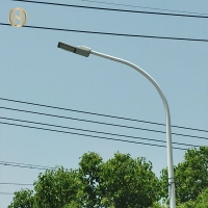 Quality 12M Galvanized Q345B Steel Street Light Pole for sale