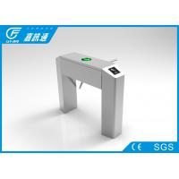 Quality Factroy Indoor Half Height Vertical Tripod Turnstile React Quickly For Stadium for sale