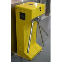 Quality Outdoor Intelligent Access Control Turnstile Gate Steel Material Vertical Type for sale