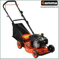 Buy cheap 18'' lawn mower,  hand push, gasoline mower, cutting width 46cm, steel desk, BS engine from wholesalers