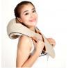 Buy cheap Beige / Brown / Orange Neck Shoulder Massage , Shiatsu PU Effective kneading Massage from wholesalers