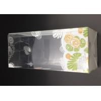 clear plastic feeding bottle packaging box in size 8.2*8.2*19.1cm with auto lock bottom voltage box