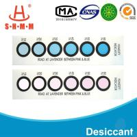 Quality DMF Free Six Dots Blue To Pink Humidity  Indicator Card For  Packages of  Electronics for sale