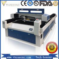 China Ten years experience CNC laser cutting machine price for metal&nonmetal TL2513-150W, THREECNC. on sale