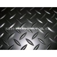 China Customized Heavy Duty Nonslip Rubber Car Mats Smooth / embossed Surface on sale