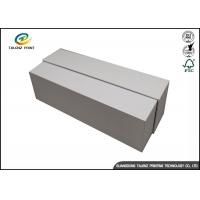China White Cardboard Jewelry Gift Boxes , Paper Packaging Cardboard Shoe Boxes on sale