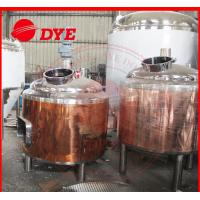 Buy 100L Copper Home Brew Kits , Professional Beer Brewing Equipment at wholesale prices