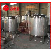 Quality DYE Chemical Stainless Steel Hot Water Storage Tanks For Breweries for sale