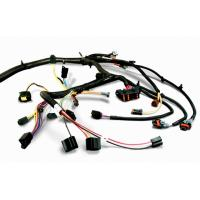 Quality Durable Electrical Custom Wiring Harness Black For Home Appliance for sale