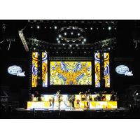 Quality P3.91 Outdoor Rental LED Display 500x500mm Led Video Panel With Double Signal Backup for sale
