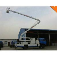 Quality Mobile Aerial Work Platform Truck With 28M Height Insulating Carrier And Insulated Arm for sale