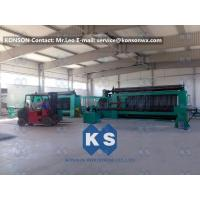 Quality Twisting Metal Wire Hexagonal Gabion Mesh Weaving Machine , 4300mm Double Rack Drive for sale
