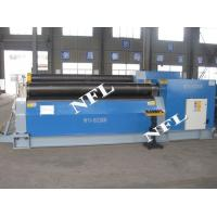 Quality Hydraulic plate rolling bender ; China plate rolling machine supplier for sale