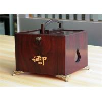 Quality Girls lamination Tea / Exhibition / Jewelry Wood Boxes Packaging Rectangular Shaped for sale