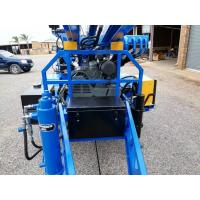 Quality 89mm drilling hole diameter   Water Well Drilling Rig Trailer mounted for sale