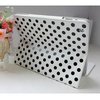 Quality New Case Leather Material Soft and Anti-skid Surface iPad Protective Cases Polka DOT for sale