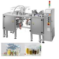 Quality Snacks Packing Machine / Doypack Pouch Packing Machine For Pet Foods / Seafoods for sale