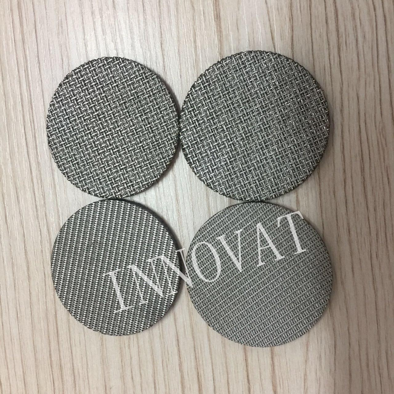 China Sintered Stainless Steel Filter Disc/ 5 Micron Stainless Steel Filter Mesh on sale