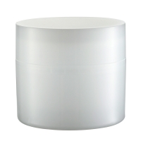 Quality JL-JR809 Face Cream Full PPScrew 15g 30g 50g 100g Cosmetic Packaging Jars for sale