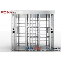Quality Double Passage Controlled Access Turnstile Rapid Identification For Stadium With CE Approved for sale
