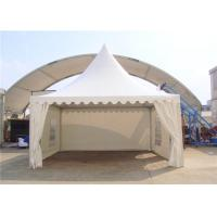 Quality SGS Customized Size Clear Span Structure White Pagoda Party Tent for sale