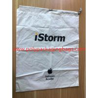 Quality Simple and elegant white cpe rope bag for general purpose packaging for sale