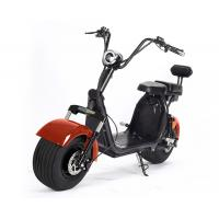 Quality Red Black Fat Tire Harley Scooter For Adult , 1200w Brushless Motor for sale